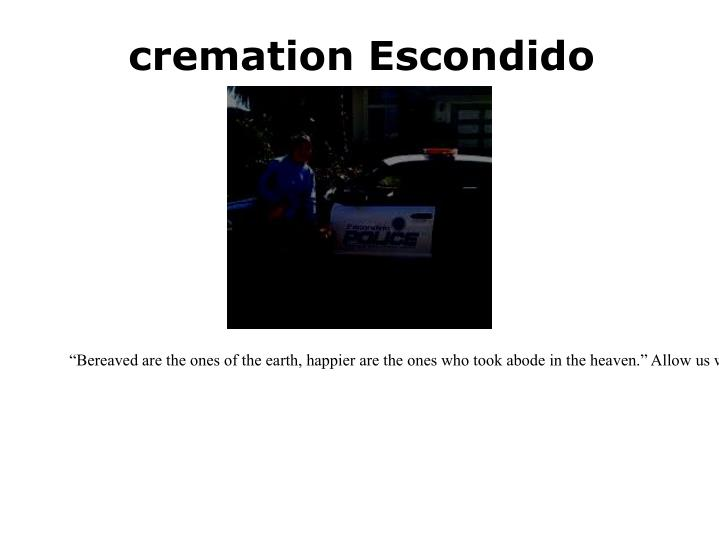 cremation Escondido