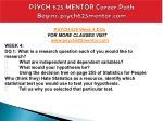 psych 625 mentor career path begins psych625mentor com13