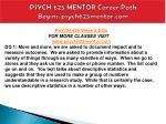 psych 625 mentor career path begins psych625mentor com6