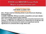 psych 625 mentor career path begins psych625mentor com9