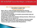 soc 110 outlet career path begins soc110outlet com16