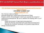 psy 428 outlet career path begins psy428outlet com16