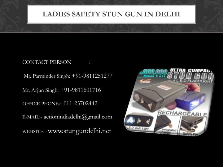 Ladies safety stun gun in delhi1