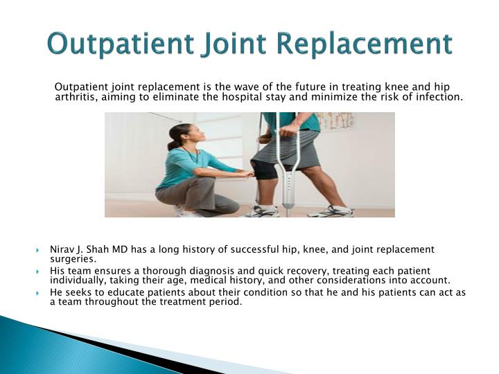 Outpatient Joint Replacement