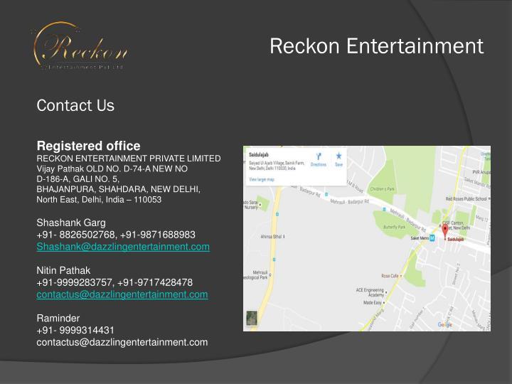 Reckon Entertainment