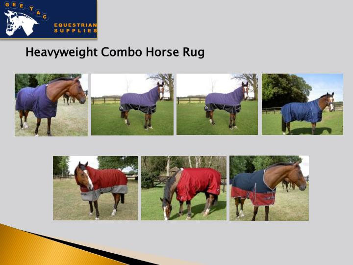 Heavyweight Combo Horse Rug
