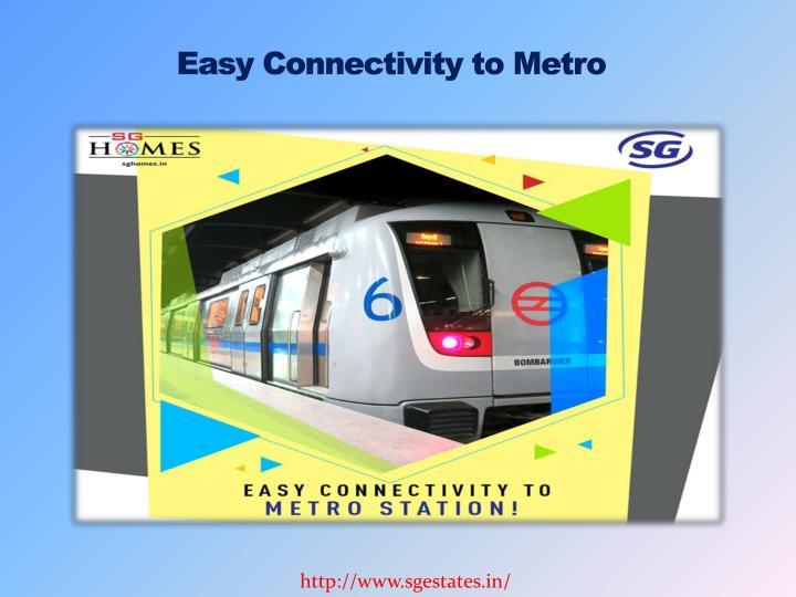 Easy Connectivity to Metro