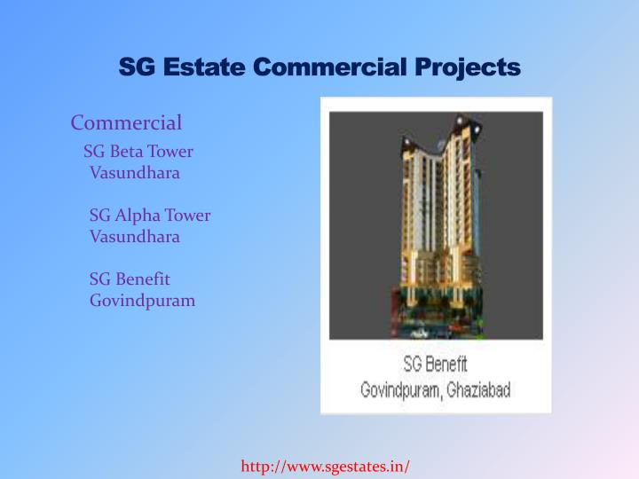 Sg estate commercial projects