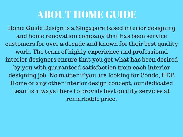 ABOUT HOME GUIDE