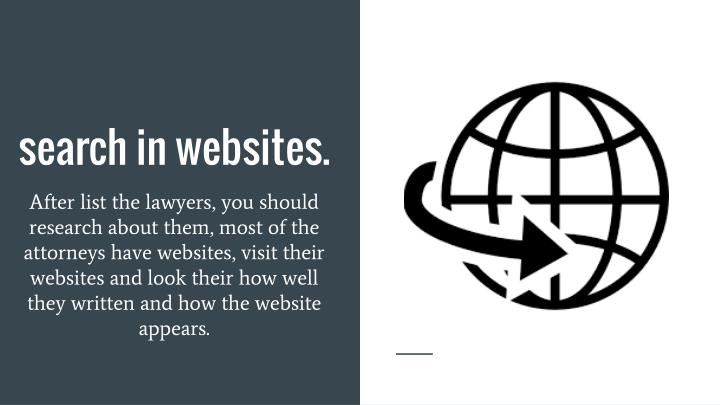 Search in websites