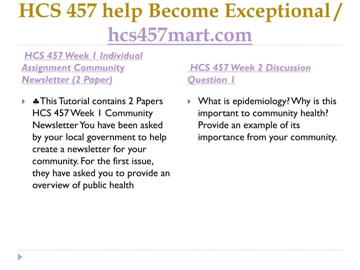 website review summary paper hcs 457 Hcs 457 is a online tutorial store we provides hcs 457 week 5 team  hcs  457 week 2 individual assignment website review and summary (2 papers)   hcs 457 week 1 individual assignment community newsletter (2 paper.