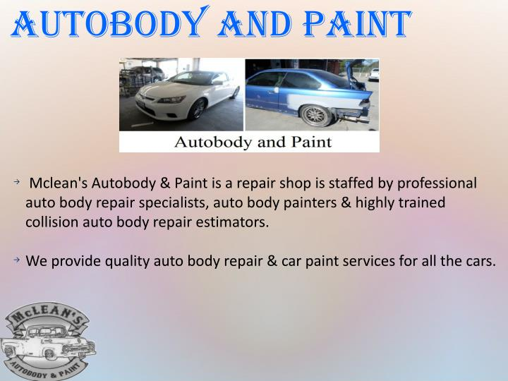 Autobody and Paint