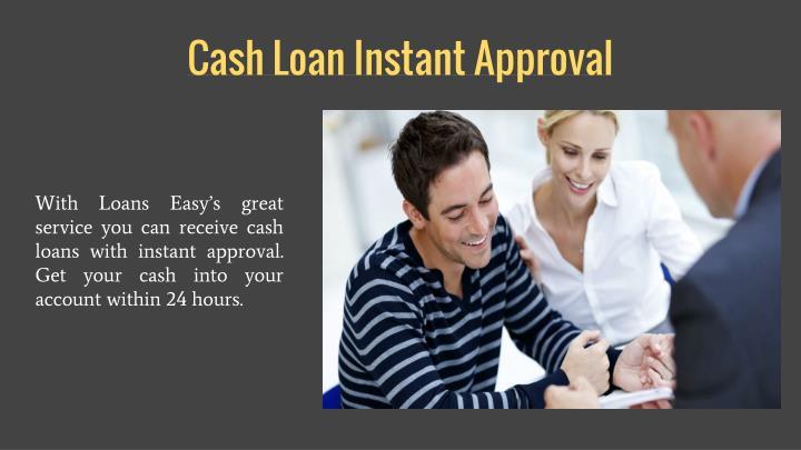 Cash Loan Instant Approval