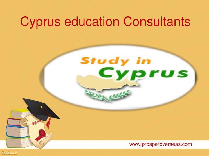 Cyprus education consultants