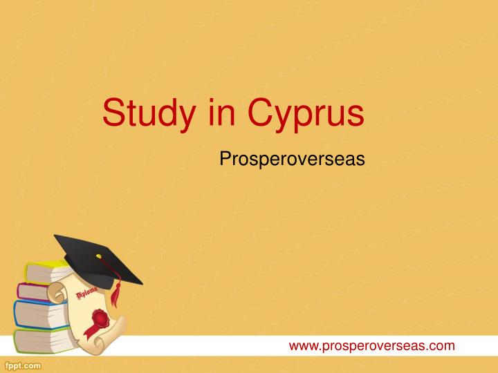 Study in cyprus
