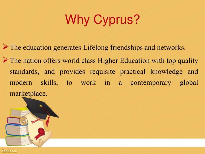 Why Cyprus?