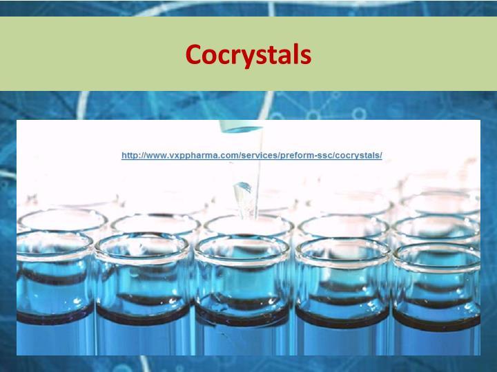 Cocrystals