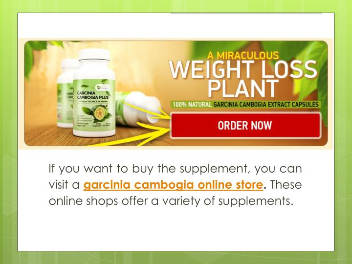 If you want to buy the supplement, you can visit a