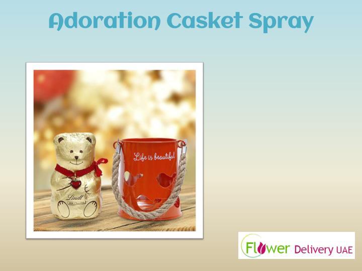 Adoration Casket Spray