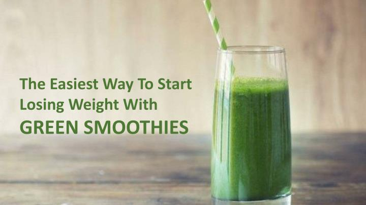 The Easiest Way To Start Losing Weight With