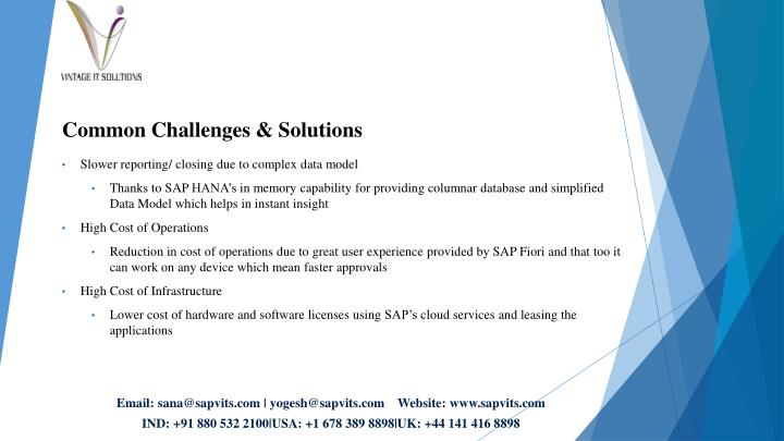 Common Challenges & Solutions
