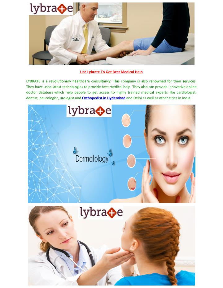 Use Lybrate To Get Best Medical Help