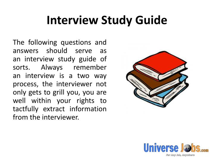 Interview study guide