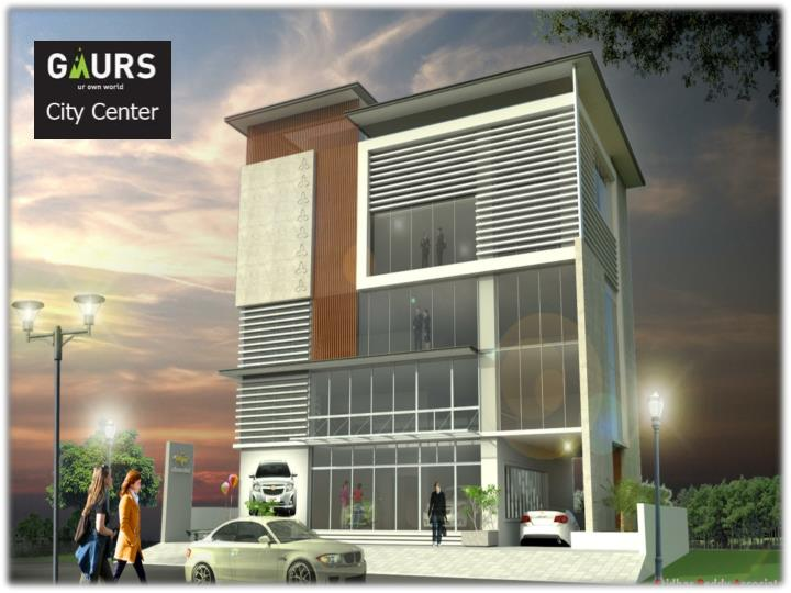 Gaur city center office spaces