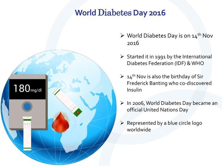 PPT - World Diabetes Day 2016 Eyes on Diabetes PowerPoint