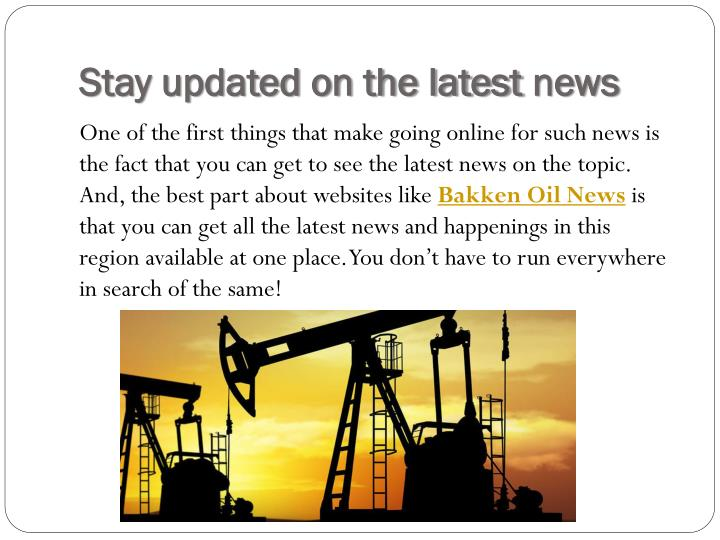 Stay updated on the latest news
