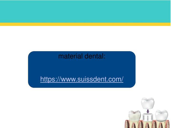 material dental: