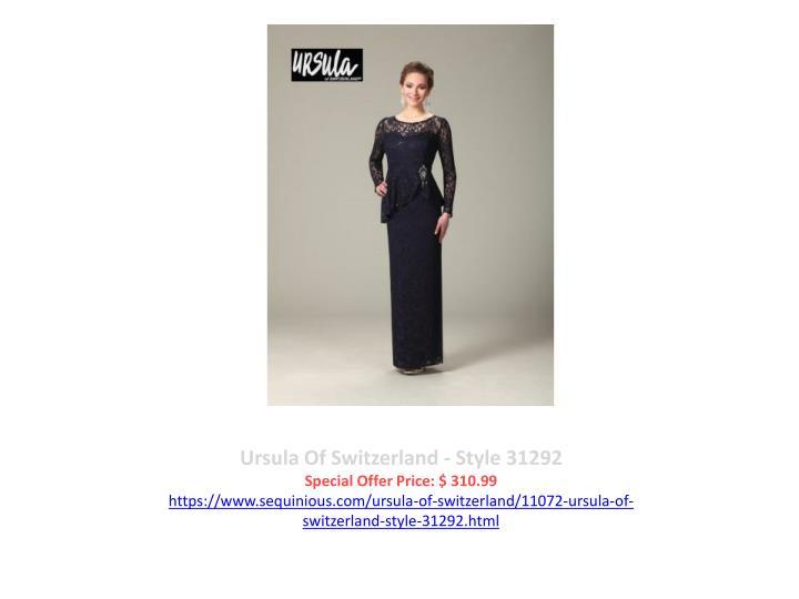 Ursula Of Switzerland - Style 31292