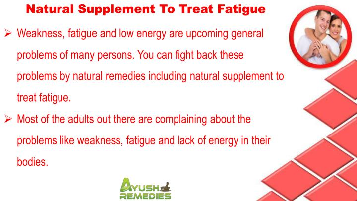 Natural Supplement To