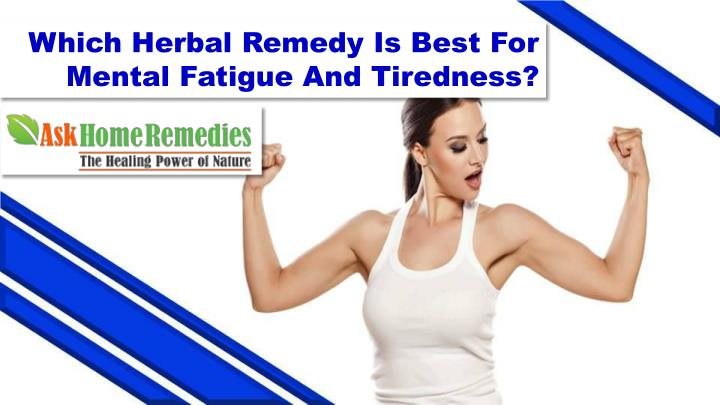 Which Herbal Remedy