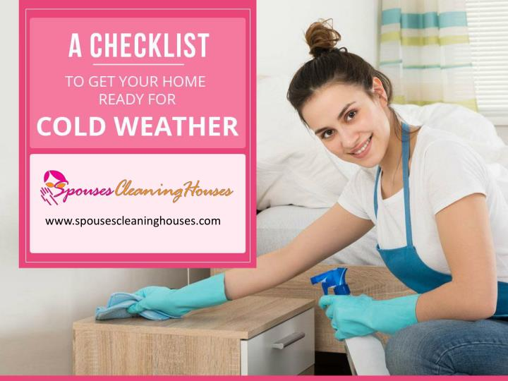 winter cleaning checklist to get your home ready for cold weather