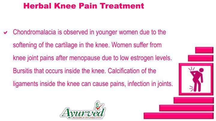 Herbal Knee Pain Treatment