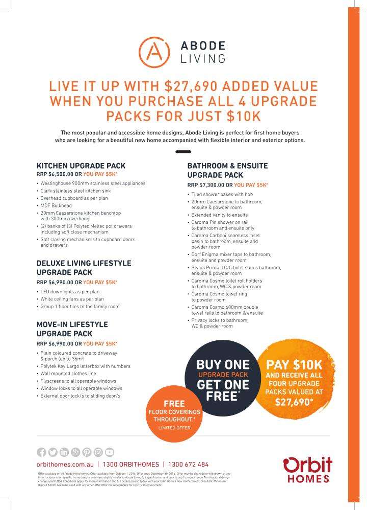 LIVE IT UP WITH $27,690 ADDED VALUE