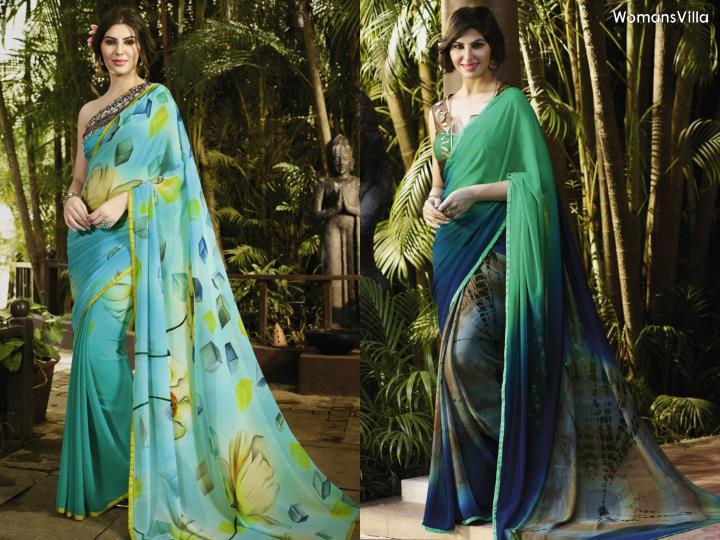 Womansvilla casual sarees online collection november 2016