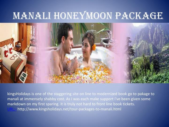 manali honeymoon package