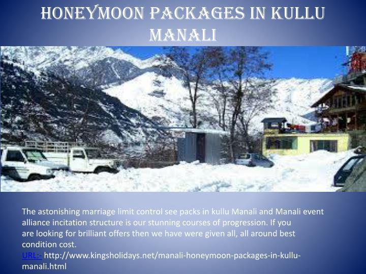 honeymoon packages in