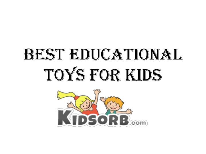 best educational toys for kids n.