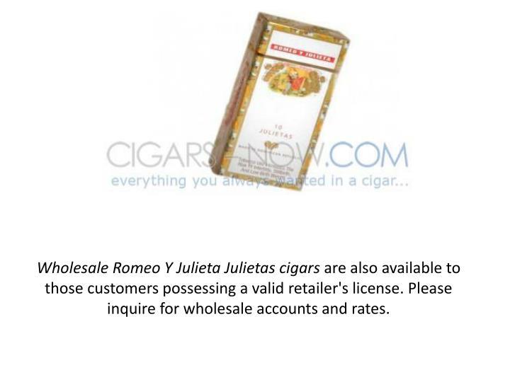 Wholesale Romeo Y