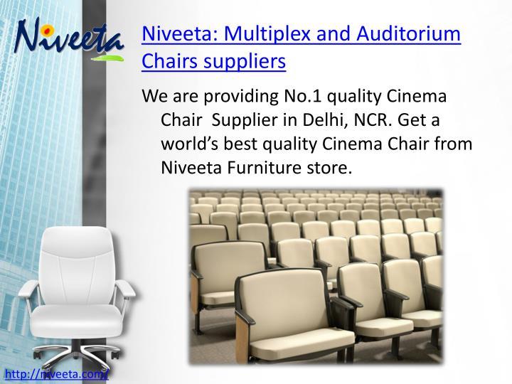 Niveeta multiplex and auditorium chairs suppliers