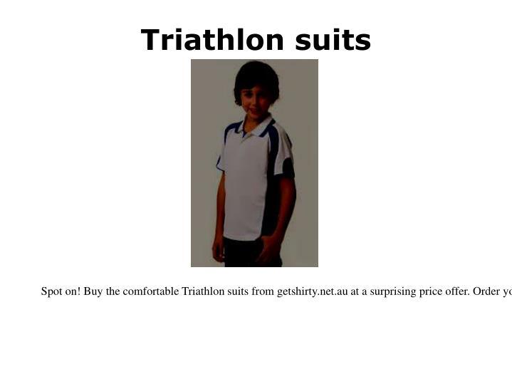 Triathlon suits