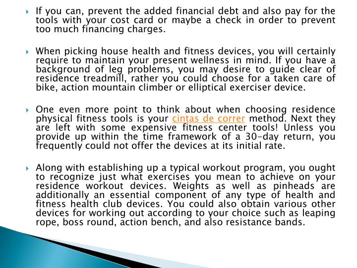 If you can, prevent the added financial debt and also pay for the tools with your cost card or maybe...