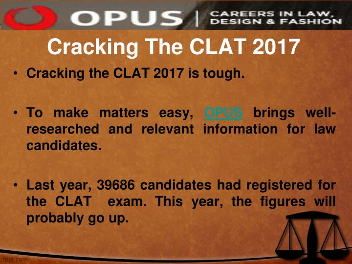 Cracking the clat 2017