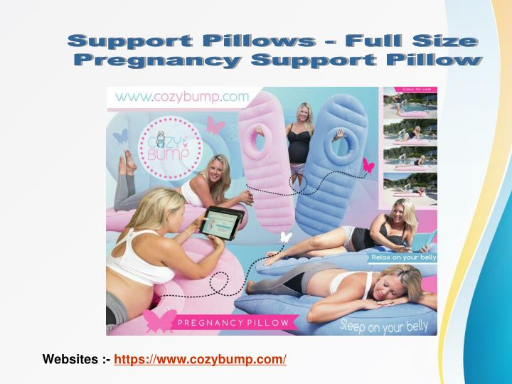 Support Pillows - Full Size