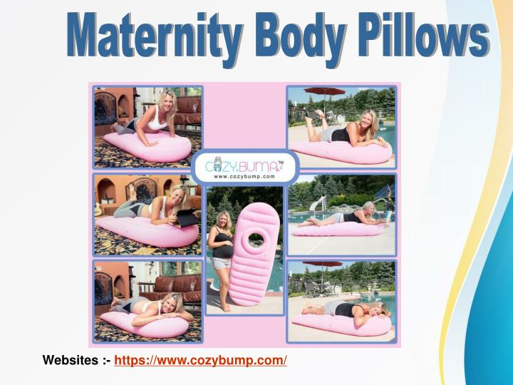 Maternity Body Pillows
