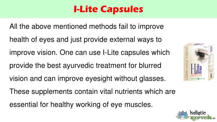 I-Lite Capsules