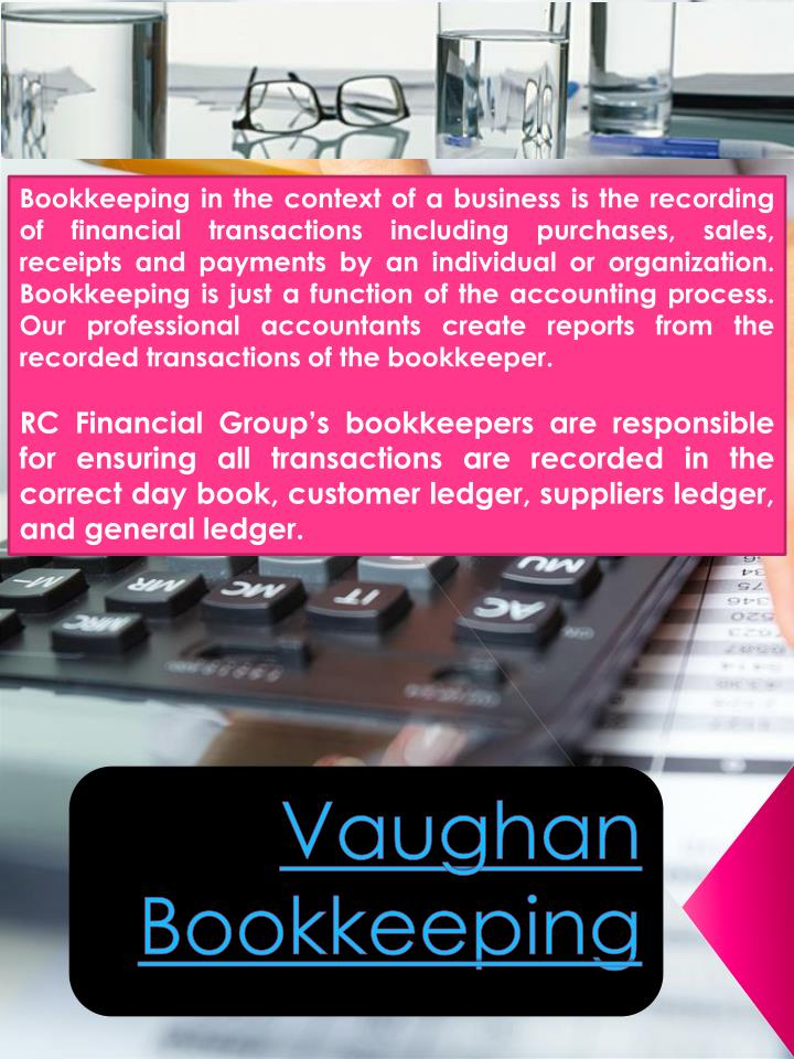 vaughan bookkeeping